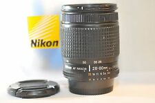 Nikon AF Zoom Nikkor 28-80mm f/3.5-5.6 D FX lens for F100 DF D610 D90 D750 D7200