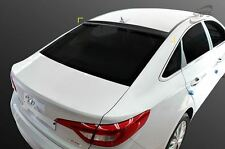 Rear Roof Wing Smoke Visor Spoiler Vent for Hyundai Sonata 15-16 LF Sonata