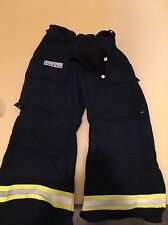 Fire-Dex Extrication Pants, 7.5oz Nomex, Navy, Small, Bunker Brush Firefighter