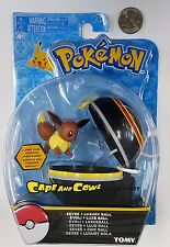 "Tomy Pokemon Clip N Carry EEVEE and LUXURY BALL 2"" Action Figure MOC 2017"