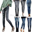 2016 Classic Stretchy Slim Leggings Sexy Women Jean Skinny Jeggings Skinny Pants