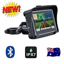 "4.3"" Inch Waterproof GPS 8GB Bluetooth FM Motorcycle & Car Latest Maps"