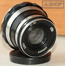 "INDUSTAR-61 ""ZEBRA"" 2.8/53mm Leica lens M39 Zorki FED RF made in USSR"