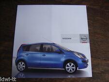 Nissan Note Prospekt / Brochure / Depliant, D, 9.2005