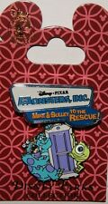 DISNEY DLR DCA Monster's Inc Mike & Sulley to the Rescue SWINGING PIN NOC