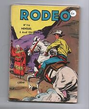 RODEO n°116 - avril 1961 - TBE