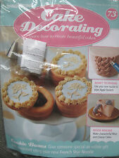 Deagostini Cake Decorating Magazine ISSUE 73 BASKETWEAVE & FRENCH STAR NOZZLES