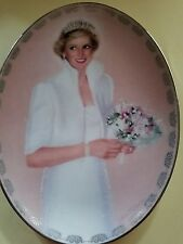 "Princess Diana Plate By Bradford Exchange ""our Royal Princess"" Limited"