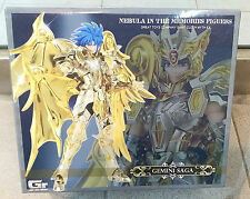 Great Toys Saint Seiya Cloth Myth EX Soul of Gold SOG God Gemini Saga Figure