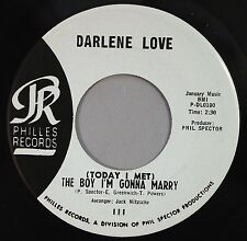 "HEAR IT 60's Philles 45 rpm record Darlene Love ""The Boy I'm Gonna Marry"" (M-)"
