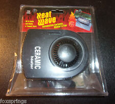 Heat Wave Automotive Ceramic Heater & Fan New DC 12 Volts 150 Watts- MIS957