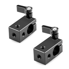 SmallRig 2pcs 15mm Rod Clamp Rail Rod Clamp fr15mm Support Rail System DSLR Rig