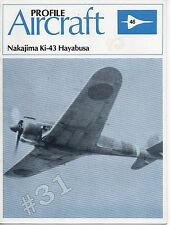 Nakajima Ki-43 Hayabusa Profile Aircraft No. 46 Scale Drawings1982