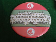 "1976 Boston Red Sox Team Photo button 6"" made in USA Button House Winona MN"