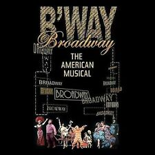 Broadway: The American Musical [Box] by Various Artists (CD, Oct-2004, 5 Discs)