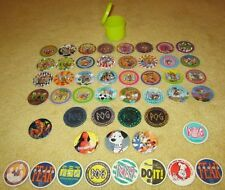 P.O.G. (assorted) GAME CHIPS/THE GAME/DISNEY/ PLASTIC PRISM (FREE SHIPPING)