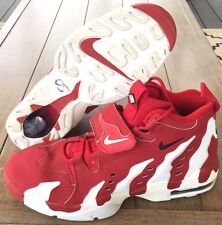 NIKE AIR DT MAX '96 DEION SANDERS 316408-600 RED/WHITE MENS SIZE 13
