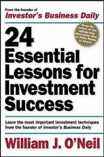 24 Essential Lessons for Investment Success: Learn the Most Important Investment