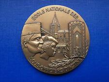 N°17 Médaille de table Ecole Nationale des Sous Officiers d'Active militaire