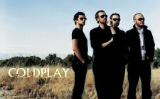 "09 Coldplay - Alternative Rock Music Star Art 38""x24"" Poster"