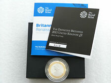 2015 Great Britain Britannia Definitive £2 Two Pound Silver Proof Coin Box Coa