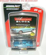 1966 '66 FORD MUSTANG GT GREENLIGHT AUCTION BLOCK MECUM DIECAST VERY RARE