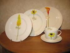 CLOU & CLASSIC *NEW* Yellow Flowers Set 3 Assiettes + 1 Tasse 60113