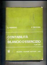 Ferrero-Dezzani # CONTABILITÀ E BILANCIO D'ESERCIZIO # Giuffrè Editore 1980