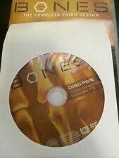 Bones - Season 3, Disc 5 REPLACEMENT DISC (not full season)