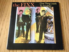 "THE FIXX - ONE THING LEADS TO ANOTHER    7"" DOUBLE PACK VINYL GATEFOLD PS"