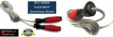 DAS-SKIP Skipping Jump Rope 9ft Boxing Training Crossfit Fitness Wire Rope