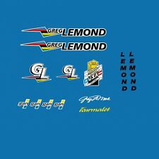 LeMond GAN Tourmalet Bicycle Decals, Transfers, Stickers n.20