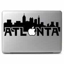 City of Atlanta with Apple for Macbook Air / Pro Laptop Vinyl Decal Sticker