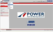 IVECO POWER TRUCK 01 2016 EPC ELECTRONIC PARTS CATALOGUE CATALOGO RICAMBI