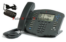 Polycom Soundpoint IP 600 -6 Line SIP Phone Telephone & PSU - Inc VAT & Warranty