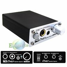 Linep A907 Two-channel Professional Microphone Amplifier Dual Reverb HIFI Music