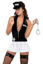 SEXY Completo Costume Poliziotta Abito Cappellino Manette Small (40/42) GLAMOUR