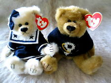 NEW RETIRED 1993  TY ATTIC COLLECTION SALTY AND BREEZY SAILOR BEARS COLLECTIBLE