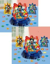 MICKEY MOUSE (2) TABLE DECORATION KITS 6 Piece Centerpiece Birthday Party Supply