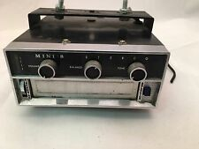 Mini 8 Eight 8 Track Tape Player under dash