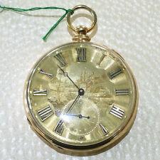 Cooper London 18k Gold Working (Keeping Time) Pocket Watch
