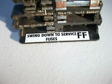 NEW fuse panel drop down decal FF for lh lx holden torana sl slr