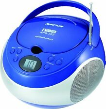 Naxa Portable Mp3/cd Player With Am/fm Stereo Radio - 1 X Disc - 2.4 W