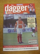 09/09/2000 Dagenham And Redbridge v Nuneaton Borough  . Any faults with this ite