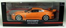 MINICHAMPS 1/18 - 150 081391 JAGUAR XKR GT3 2008 - DIE-CAST MODEL CAR