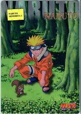 Naruto mini shitajiki pencil board mousepad sottofoglio - Naruto/Sasuke RARE