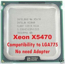 Intel Xeon X5470 Top Server Processor Compatibility to LGA775 no need adapter