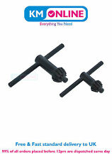 "2pc Black Replacement Chuck Key Set Cordless Corded Drills 5/16"" 3/8"" 1/2"" Tools"