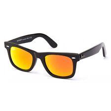 Ray Ban RB 2140 Wayfarer 54-18 140 Black Frame Orange Lens Sunglasses