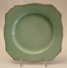 ROYAL WINTON Grimwades PASTEL WARE GREEN Ascot Bread & Butter Plate Square